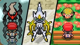 Download Pokémon Diamond / Pearl - All Mythical Pokémon Events Video