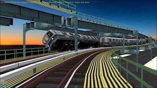 Download OpenBVE HD Troll: NYC Subway Pre-GOH R44 Luminator Flip-dot Fung Wah Bus M Train Video