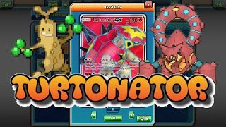Download STANDARD GUARDIANS RISING Turtonator GX / Volcanion EX Deck ft. Sudowoodo: Pokemon TCGO (PTCGO) Video