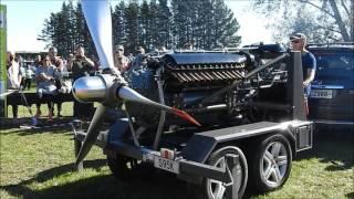 Download 1943 Allison V-1710 Aircraft Engine Napier New Zealand 07/05/2017 Video