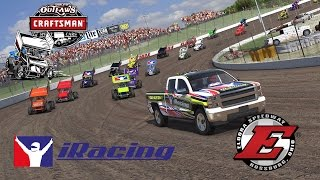 Download iRacing - World of Outlaws Sprint Car racing from Eldora Video