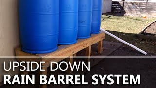 Download Upside-down Rain Barrels Video