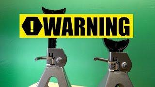 Download Unsafe Jack Stands Video