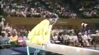 Download 1988 Paul Hunt gymnastics comedy beam routine Video