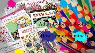 Download Coloring Books!! | Watch how I Color in Mine!!! Video