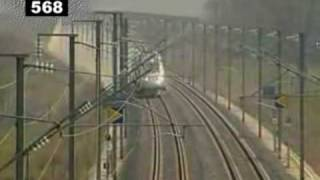 Download TGV speed record 574,8 km/h Video