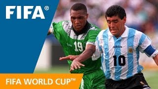 Download World Cup Highlights: Argentina - Nigeria, USA 1994 Video