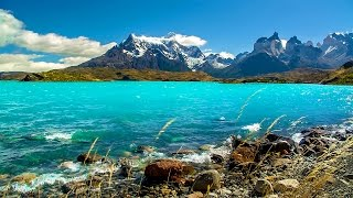 Download Patagonian Nature Sounds - Relaxing Rivers, Lakes and Waterfalls Video