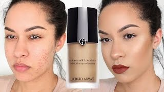 Download Giorgio Armani Luminous Silk Foundation Review + Demo Video