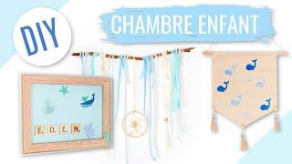 Download DIY DECO CHAMBRE ENFANT / BÉBÉ FACILE Ft. Allo Maman Video
