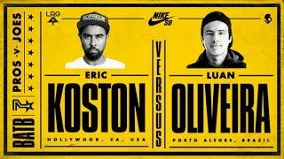 Download Eric Koston Vs Luan Oliveira: BATB7 - Finals Video