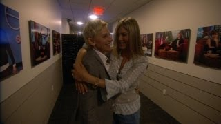 Download Jen Aniston's Ellen Scare Fail Video