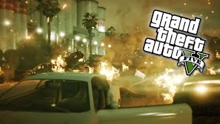 Download GTA 5 Next Gen - INSANE Chain Explosions! C4 Demolition Experts in GTA Online! (GTA 5 PS4 Gameplay) Video