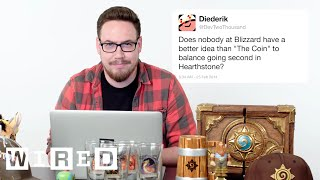 Download Blizzard's Ben Brode Answers Hearthstone Questions From Twitter   Tech Support   WIRED Video