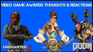 Download Video Game Awards Thoughts And Reactions: Uncharted 4 Rightfully Loses Big & More! Video