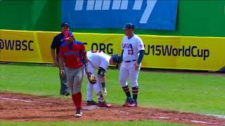Download Highlights: Dominican Republic v USA - U-15 Baseball World Cup 2018 Video