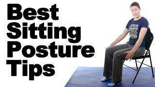 Download 5 Best Sitting Posture Tips to Reduce Back Pain & Neck Pain - Ask Doctor Jo Video
