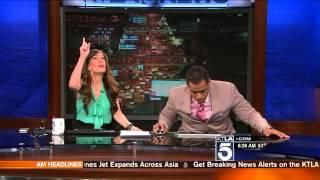 Download KTLA Anchors React to Earthquake! Video
