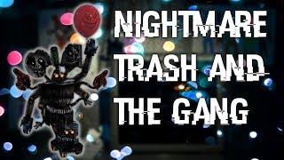 Speed Edit] Remodeled Trash and the Gang | FNaF Ultimate