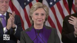 Download Watch Hillary Clinton's full concession speech in U.S. presidential election Video