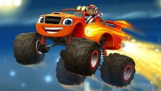 Download Blaze and the Monster Machines Racing cars Game for Kids. Race game full episode for boys Video