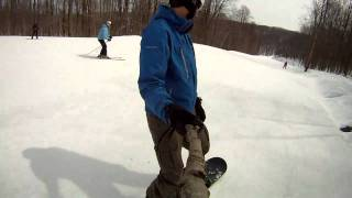 Download Snowboarding at Holiday Valley GoPro HD Video
