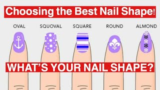 Download DIFFERENT NAIL SHAPES | BEAUTY TIPS | Dearnatural62 Video