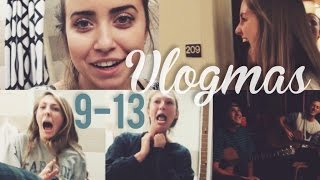 Download VLOGMAS DAYS 9-13 | SUITE PRANKS & TALENTED FRIENDS Video