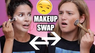 Download I SWAPPED MAKEUP BAGS WITH MY 14 YR OLD NIECE Video