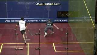 Download Squash : J.P. Morgan Tournament of Champions 2013 PSA Final Roundup - Ashour v Gaultier Video