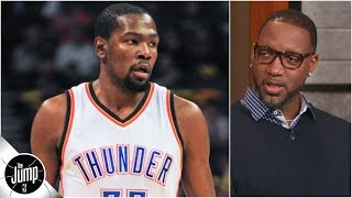 Download Kevin Durant vs. Tracy McGrady: Who wins a 1-on-1 game in their primes? | The Jump Video
