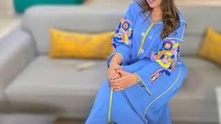 Download جديد في خياطة جلابة 2019 Les nouveautés dans la jellaba marocaine (الجزء 10) Video