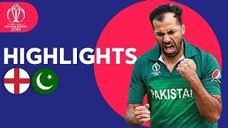 Download Wahab Stuns Hosts! | England vs Pakistan - Match Highlights | ICC Cricket World Cup 2019 Video