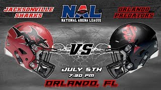 Download Jacksonville Sharks vs Orlando Predators Video