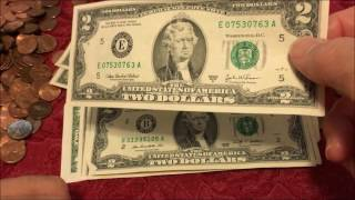 Download WE SEARCH $200 BANK STRAP OF $2 BILLS Video