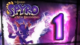 Download The Legend of Spyro: A New Beginning Walkthrough Part 1 (PS2, Gamecube, XBOX) Swamp Video