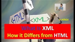 Download What is XML How it Differs from HTML in HINDI Video