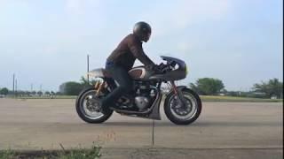 Download Triumph Thruxton R (TTR) - Vance & Hines Exhaust (US Spec.w/o DB) Video