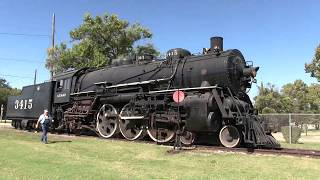 Download Abilene & Smoky Valley Railroad train ride with ATSF 4-6-2 #3415. 2017 Video