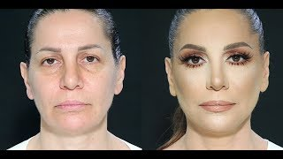 Download Mature women makeup tutorial by Samer Khouzami Video