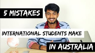 Download 5 MISTAKES International students make | STUDY IN AUSTRALIA Video