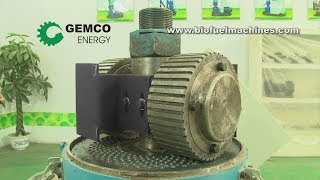 Download Wood pellet machine for homemade pellets production Video