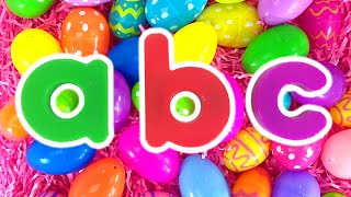 Download ABC Surprise Eggs | Teach Toddlers Colors, Kindergarten Kids Learn Alphabet by Busy Beavers Video
