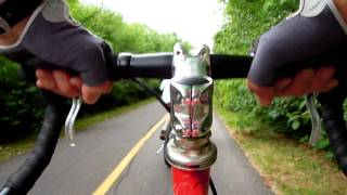 Download Bicycle Cam on my Fixed Wheel Marinoni Video