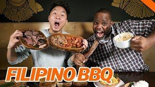 Download BEST FILIPINO BBQ IN L.A. w/ DAYM DROPS - Fung Bros Food Video