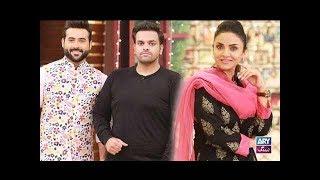 Download Faysal Qureshi ,Nadia Khan, Faizan & Aadi playing ″Rapid Fire″ Video