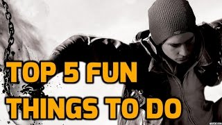 Download Infamous Second Son - Top 5 Fun Things to do in Free Roam! Video
