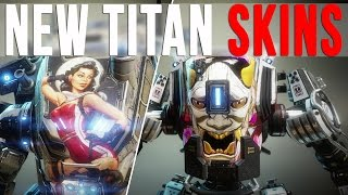 Download TITANFALL 2: NEW TITAN NOSEART SKINS (Angel City DLC Preview) Video