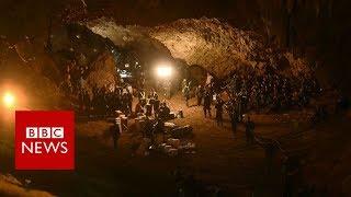 Download Thailand cave rescue: Children found 'by smell' - BBC News Video