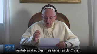 Download Message vidéo du Pape au diocèse de Pontoise Video